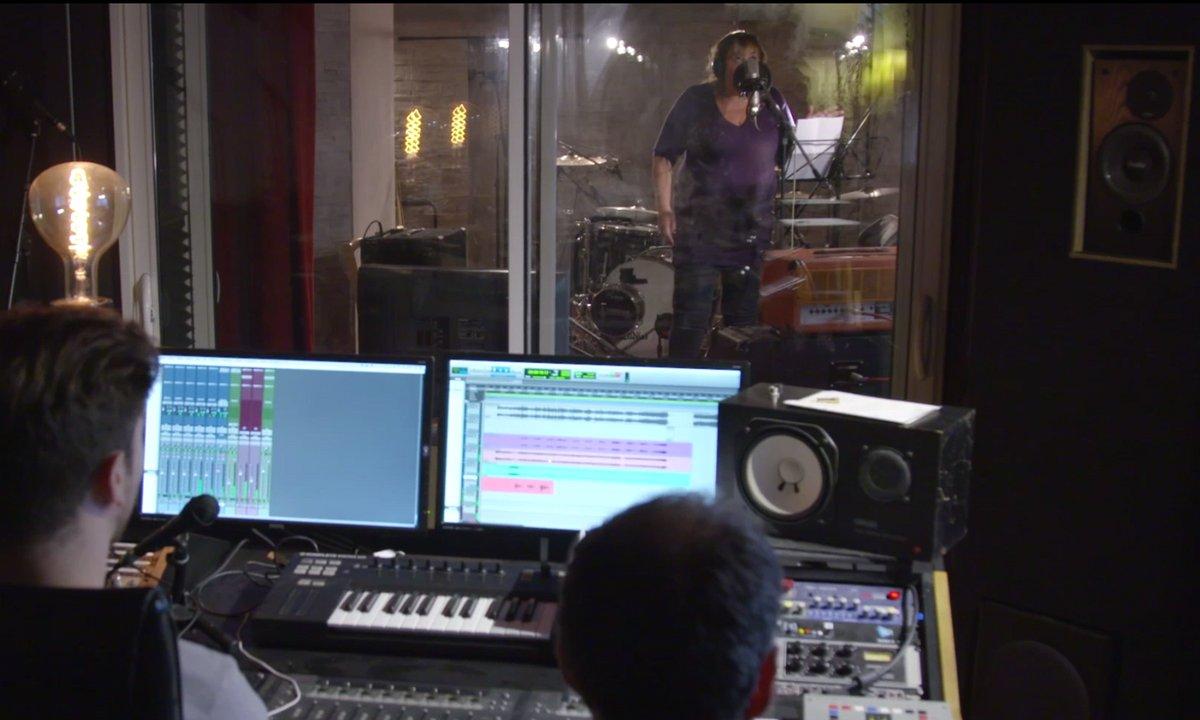 Folle Amanda : en enregistrement studio avec Michèle Bernier