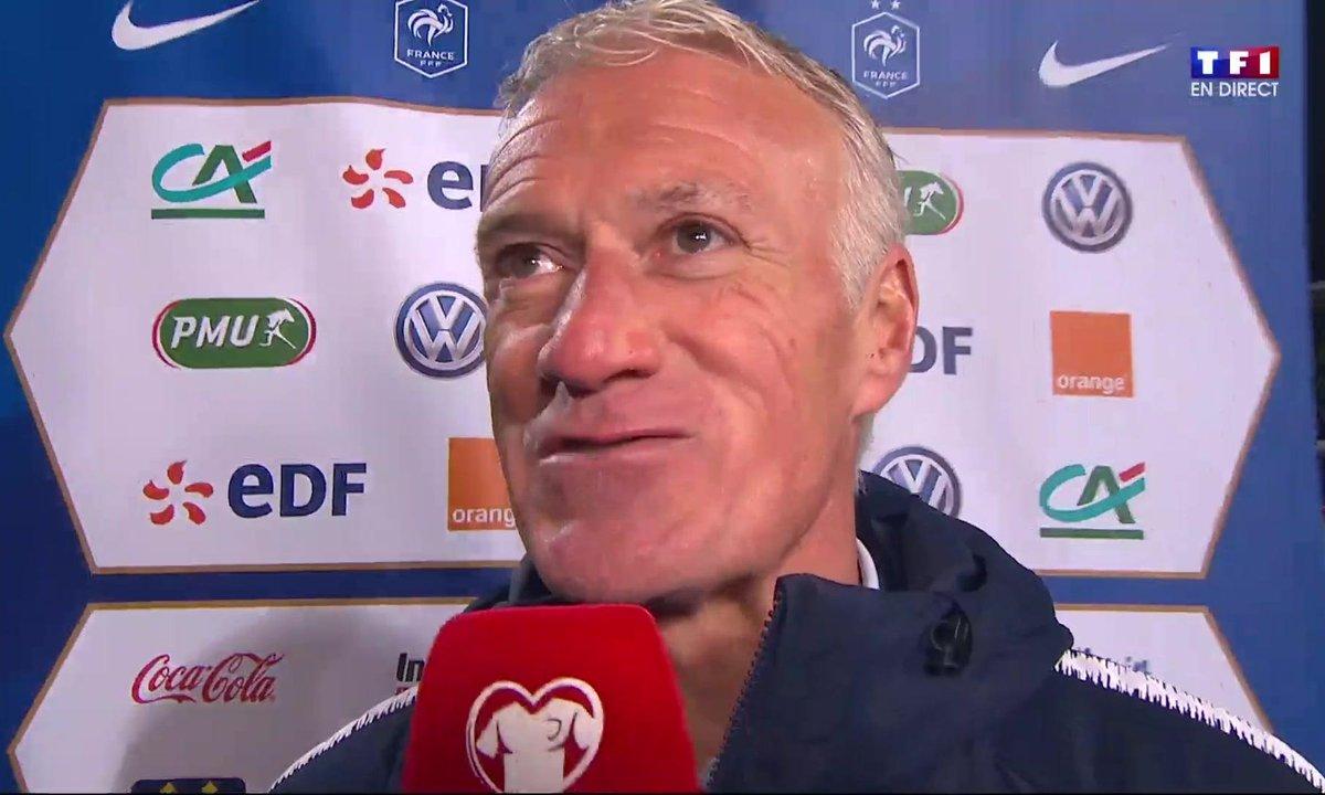 """Moldavie - France (1 - 4) Deschamps : """"On aurait pu mettre plus de buts"""""""