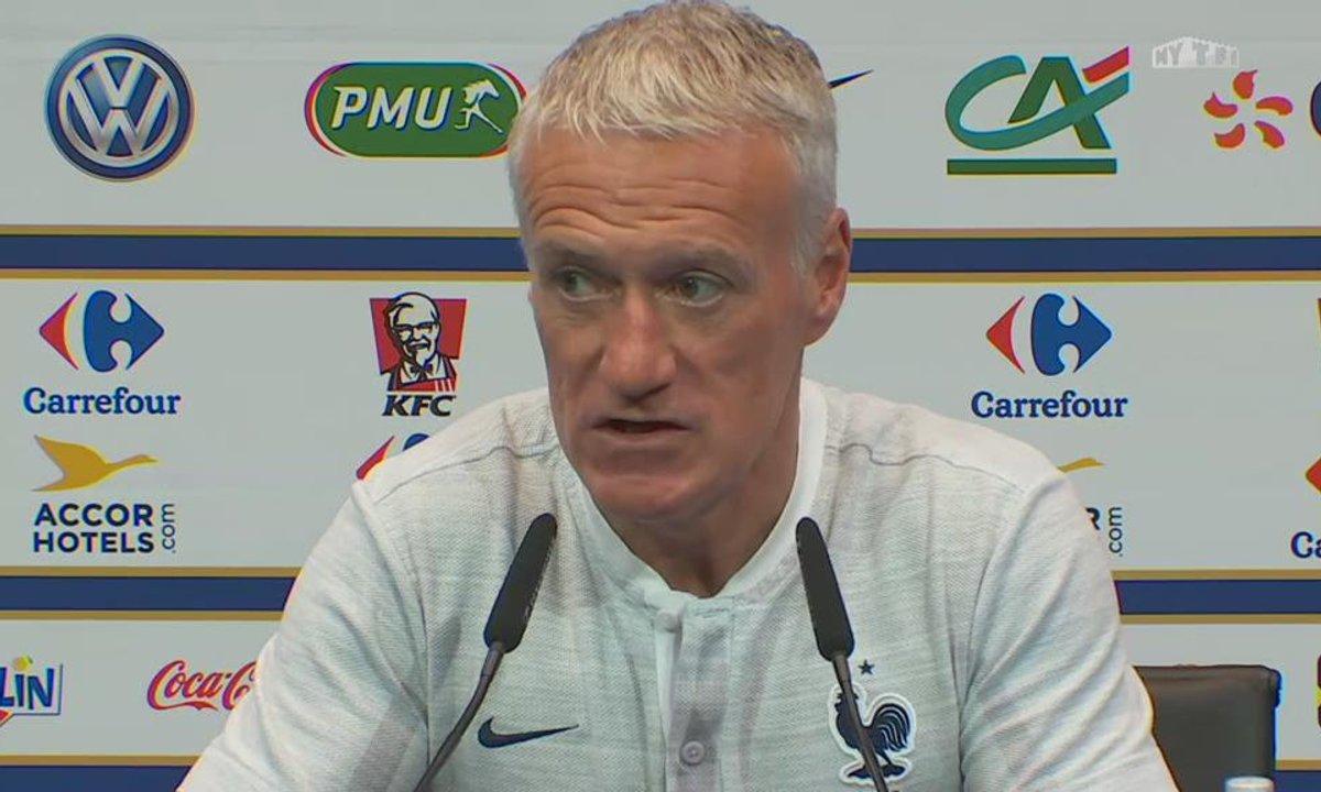 """Didier Deschamps sur Rabiot : """"Il a fait une énorme erreur"""""""