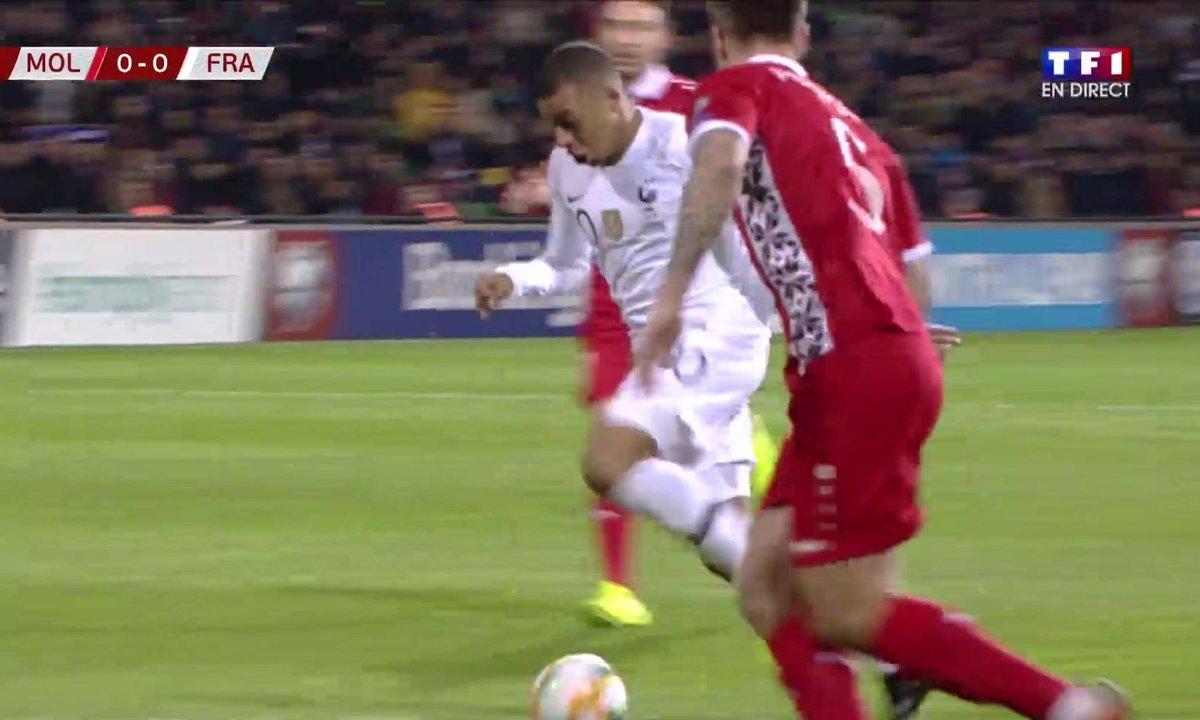Moldavie - France (0 - 0) : Voir la percée de Mbappé en vidéo