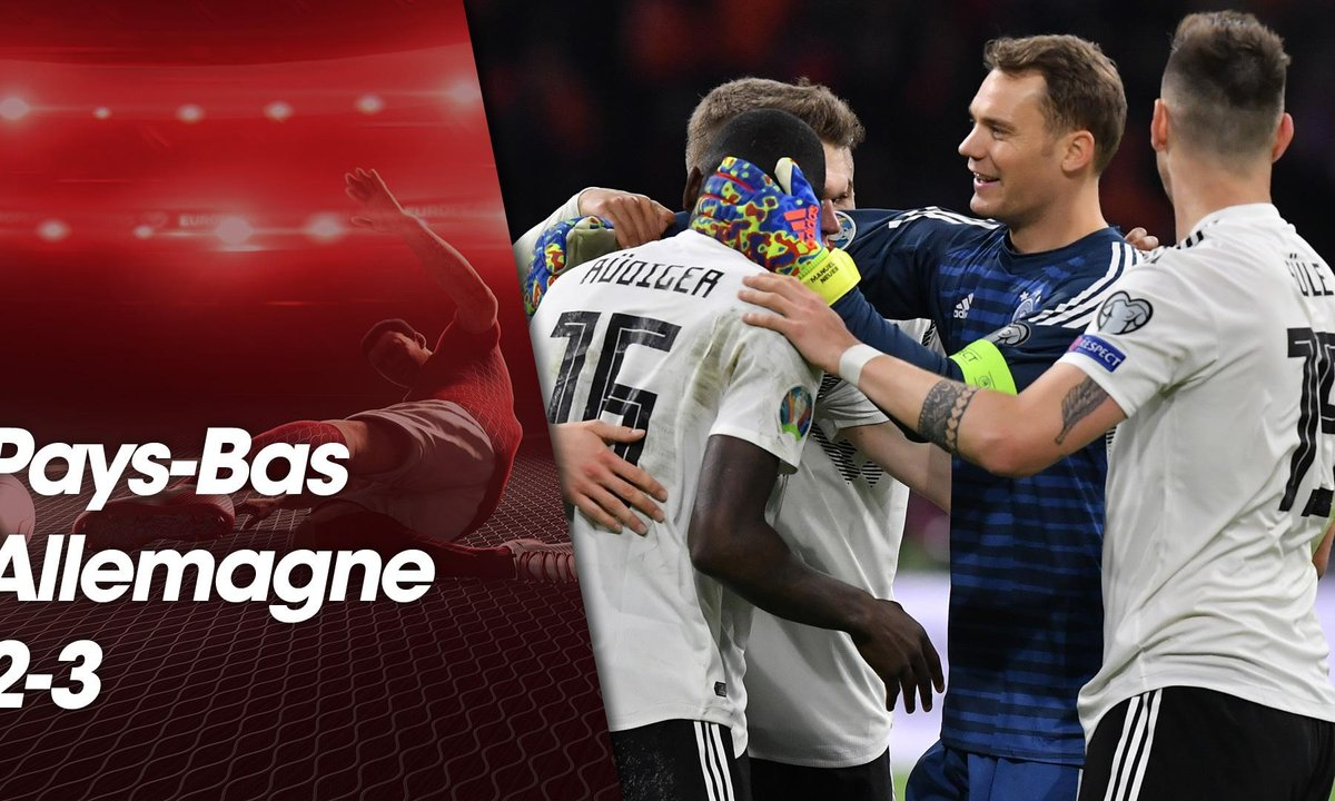 Football - Qualification Euro 2020 - Pays-Bas / Allemagne