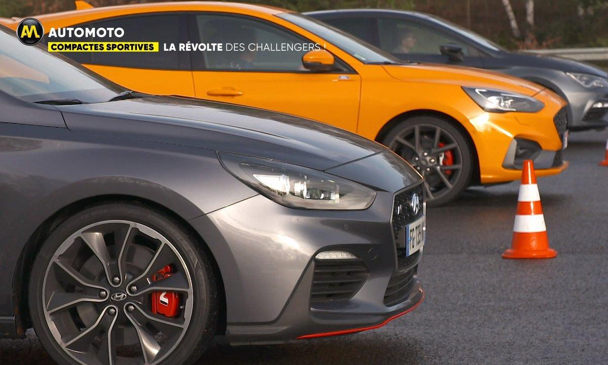 Ford Focus ST vs Hyundai I30 N vs Seat Leon Cupra