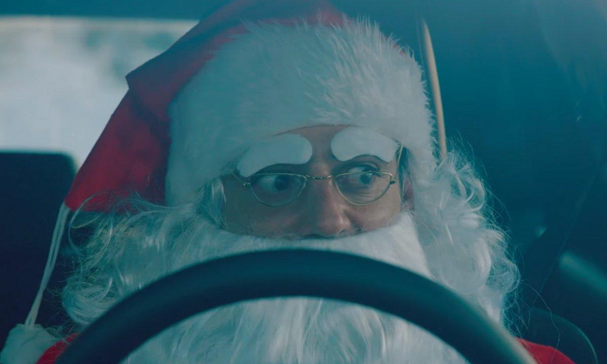 Insolite : Père Noël, Ford Focus RS et Star Wars