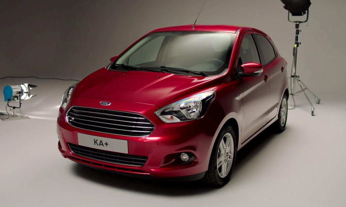 Ford Ka+ 2016 : présentation officielle