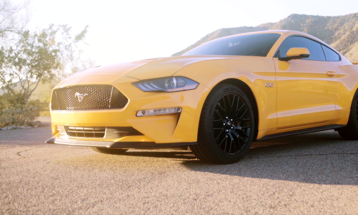 Ford Mustang 2017 : présentation officielle