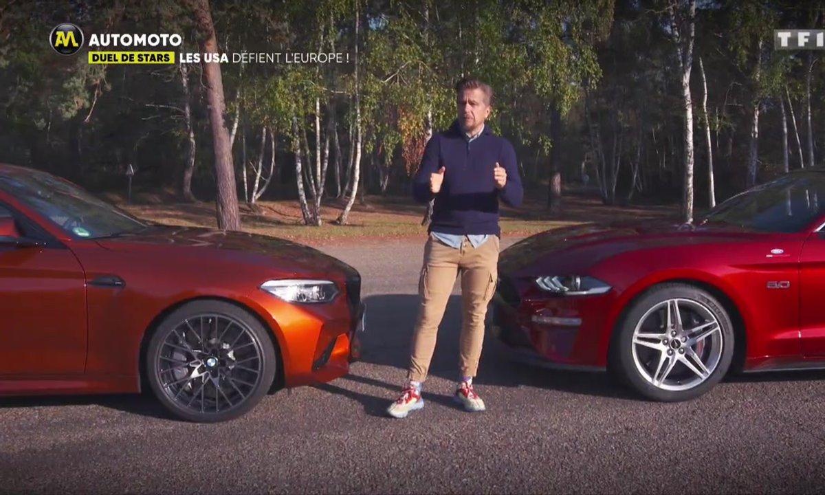 Duel de stars : La Ford Mustang défie la BMW M2 Compétition