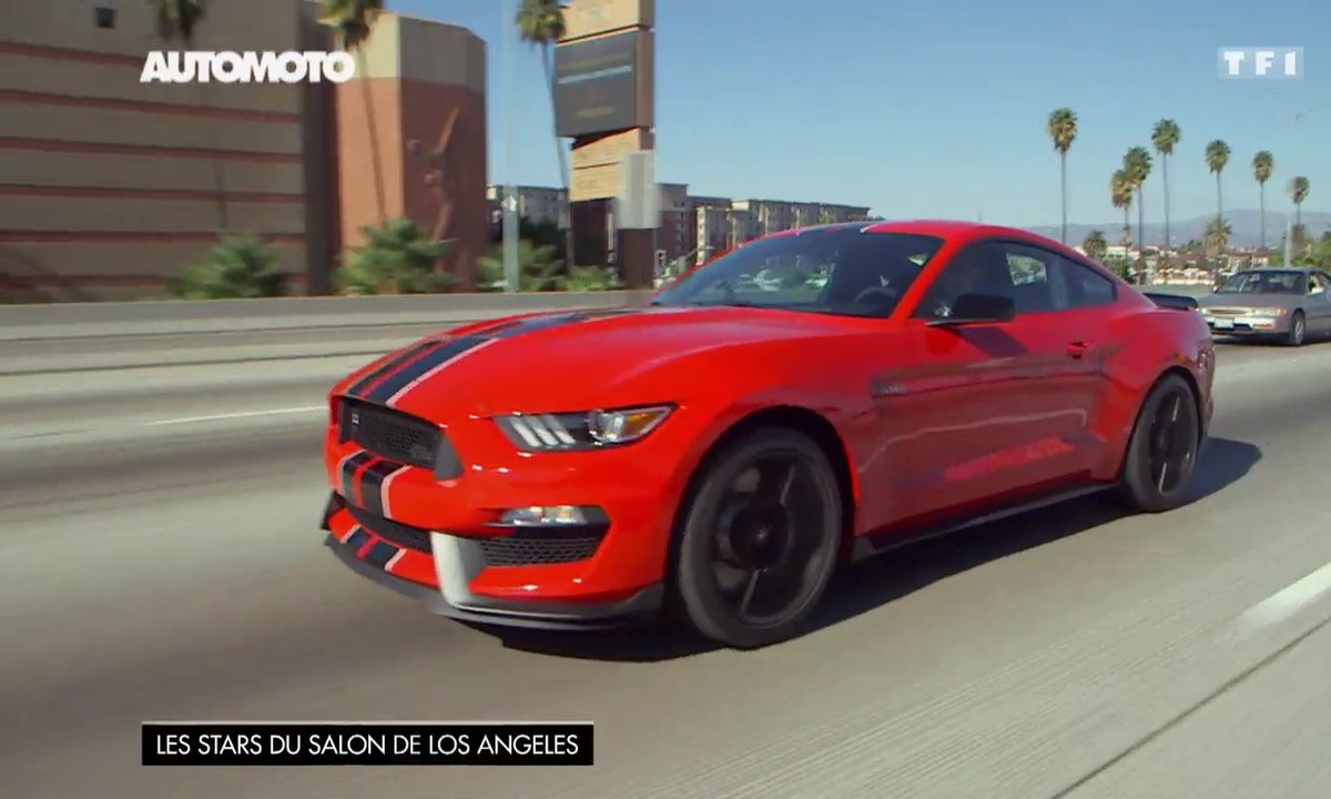 Shelby GT350 2016 : La Ford Mustang version muscle-car !