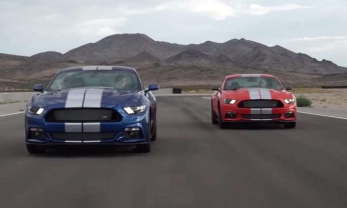La Ford Mustang Shelby GTE 2017 en action