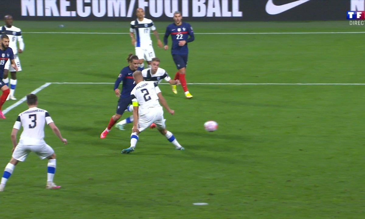 France - Finlande (1-0) : le but sublime d'Antoine Griezmann en vidéo