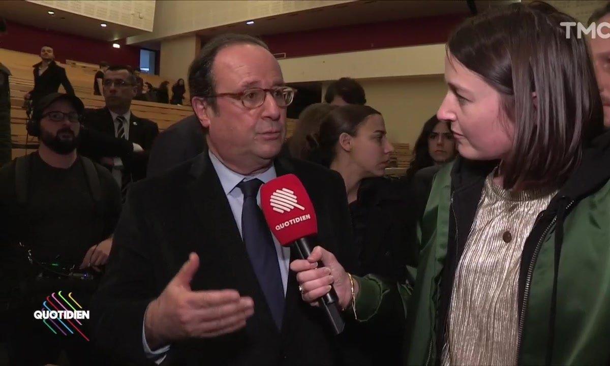 François Hollande esquive le congrès du PS