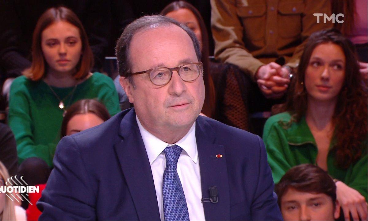 """François Hollande répond à la pique d'Emmanuel Macron : """"Il y a des métiers où il vaut mieux être professionnel"""""""