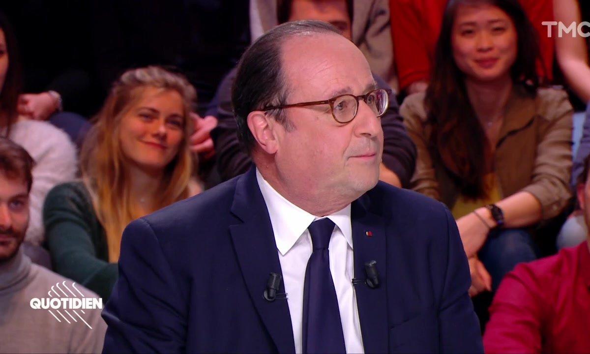 """François Hollande : """"Les réseaux sociaux, j'ai vite arrêté, je devenais trop déprimé"""""""
