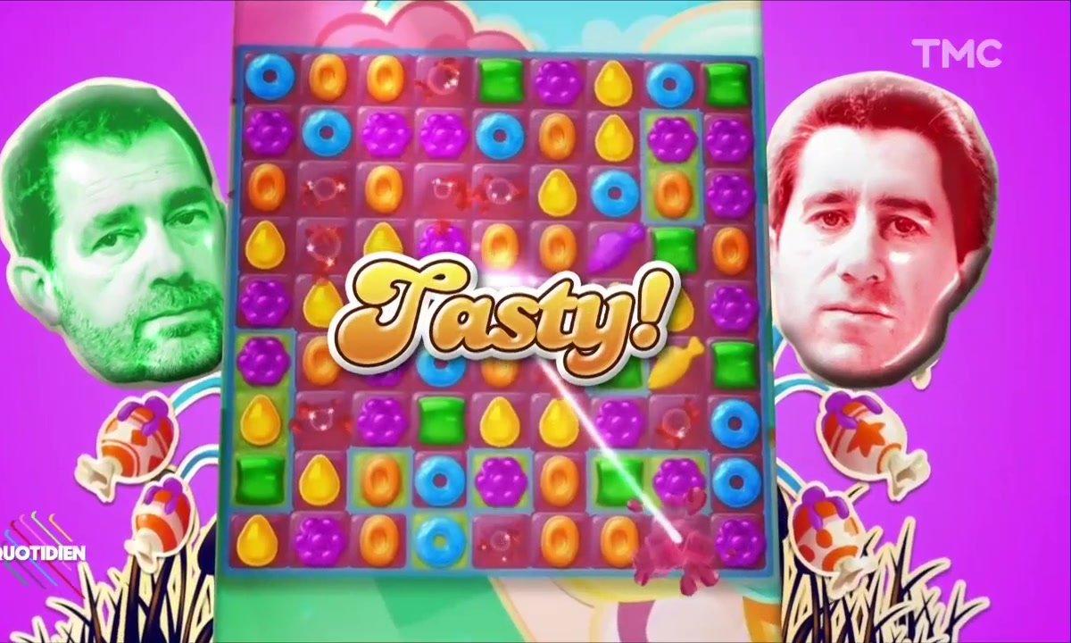 François Ruffin vs Christophe Castaner : le Candy Crush Gate
