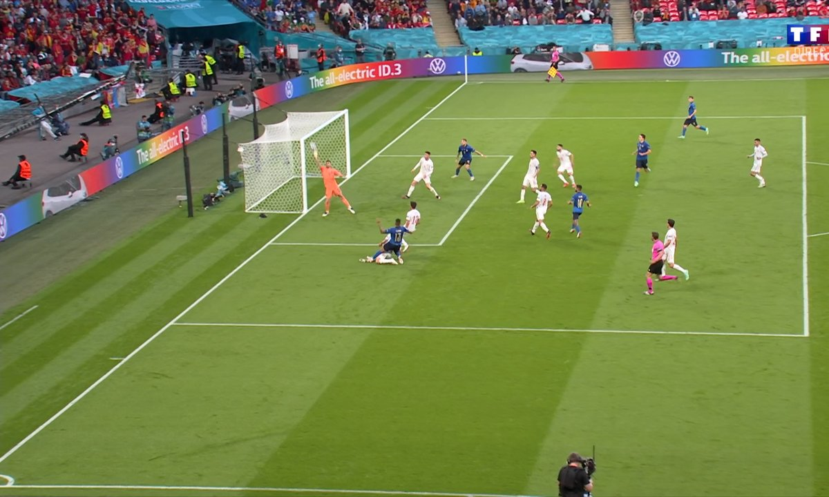 Italie - Espagne (0 - 0) : Voir l'occasion d'Emerson en vidéo