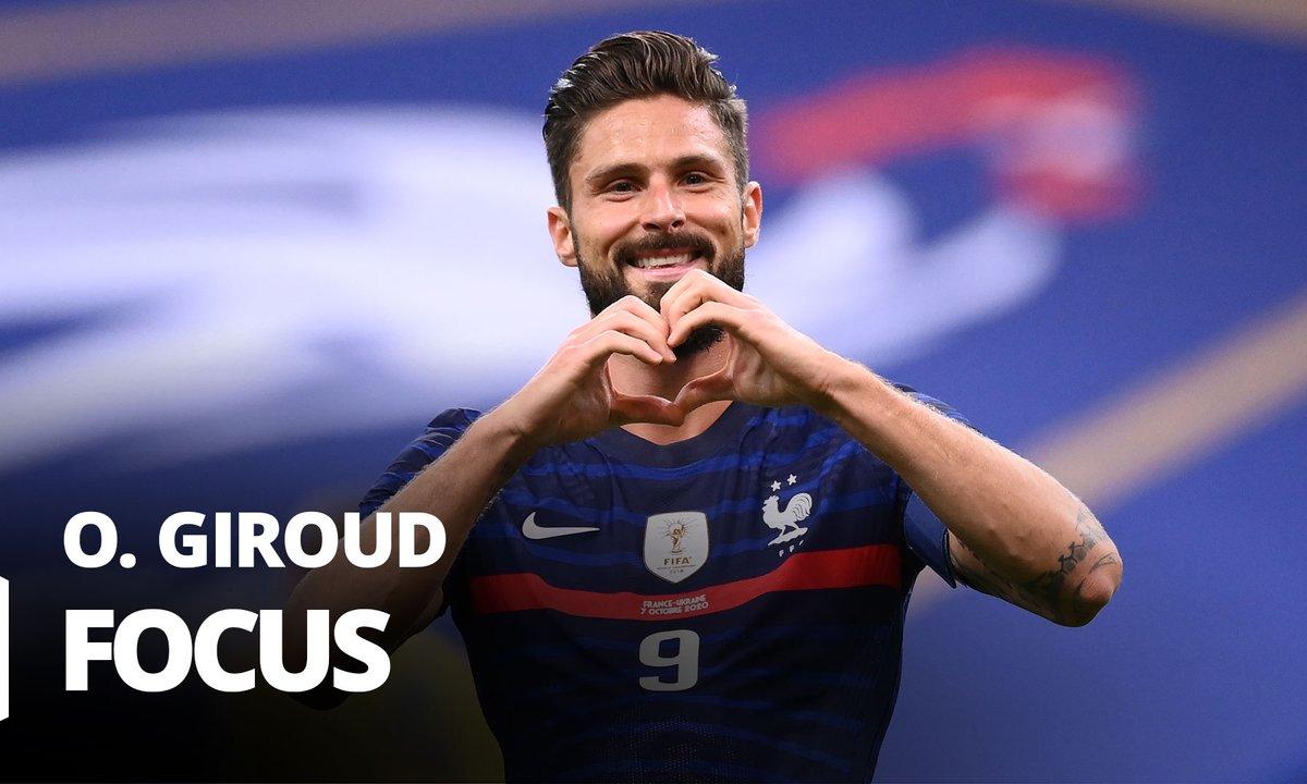 France - Ukraine : Voir le 100e match de Giroud en vidéo