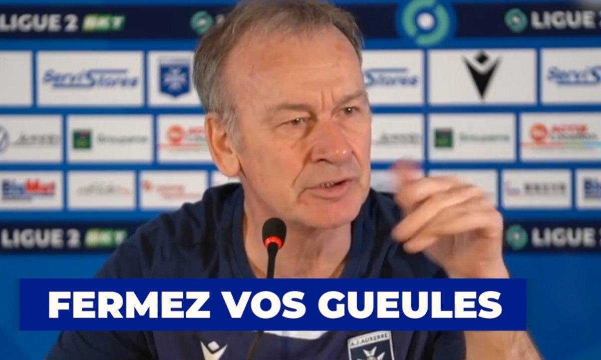 VIDEO - Le coup de gueule de Furlan en conférence de presse