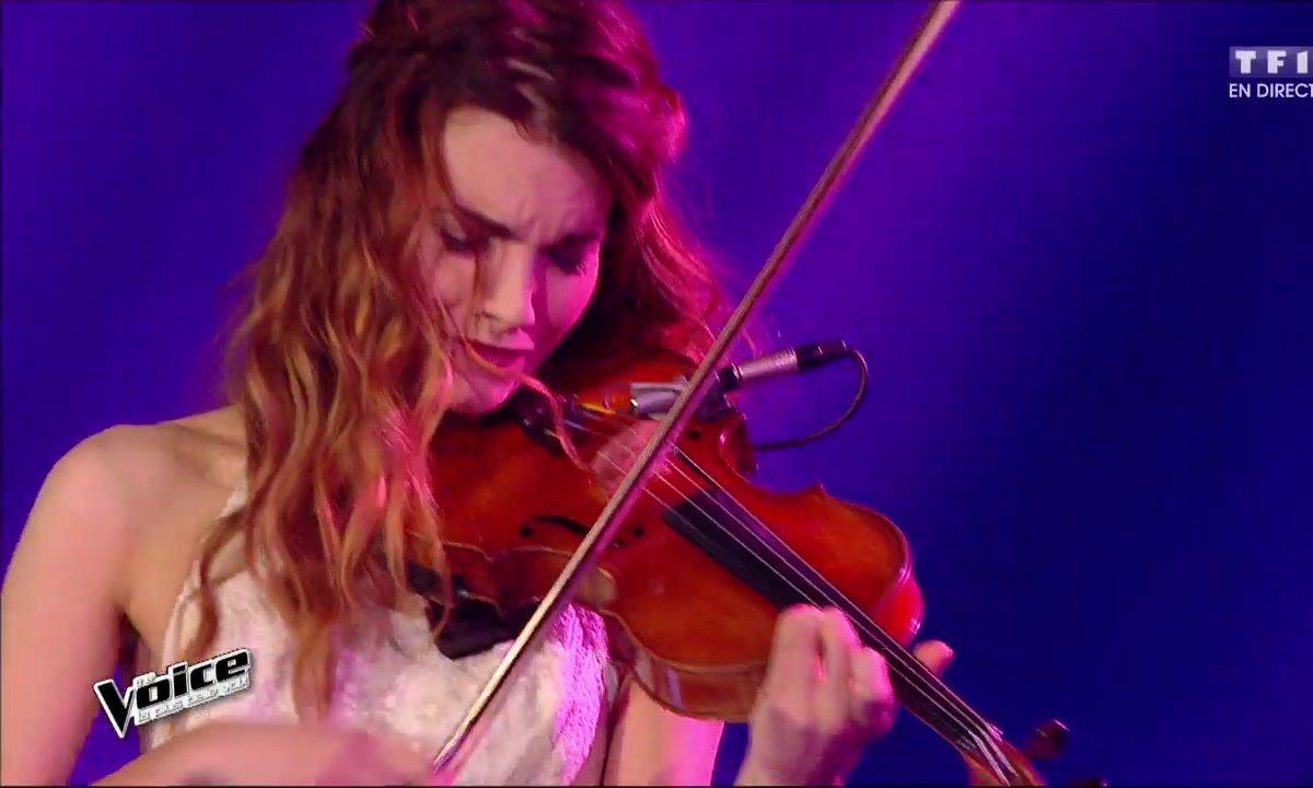 Gabriella interprète en direct « Aussi libre que moi » (Calogero) (Saison 05)