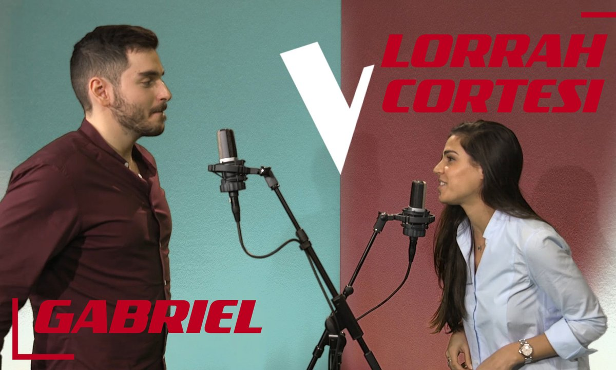 La Vox des talents : Lorrah Cortesi vs Gabriel | Dream a little dream of me | Ella Fitzgerald et Louis Armstrong
