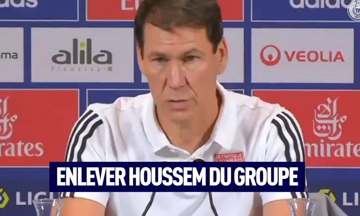 VIDEO - La réaction de Rudi Garcia à la sanction contre Aouar