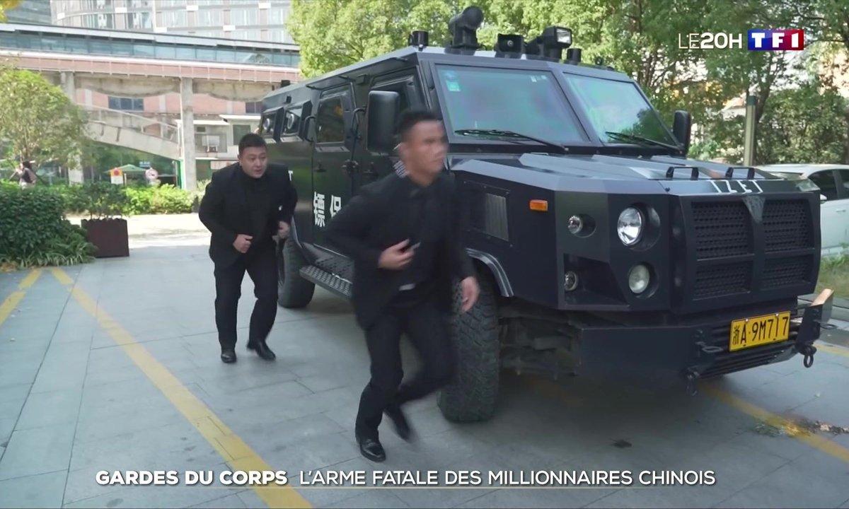 Gardes du corps, l'arme fatale des millionnaires chinois