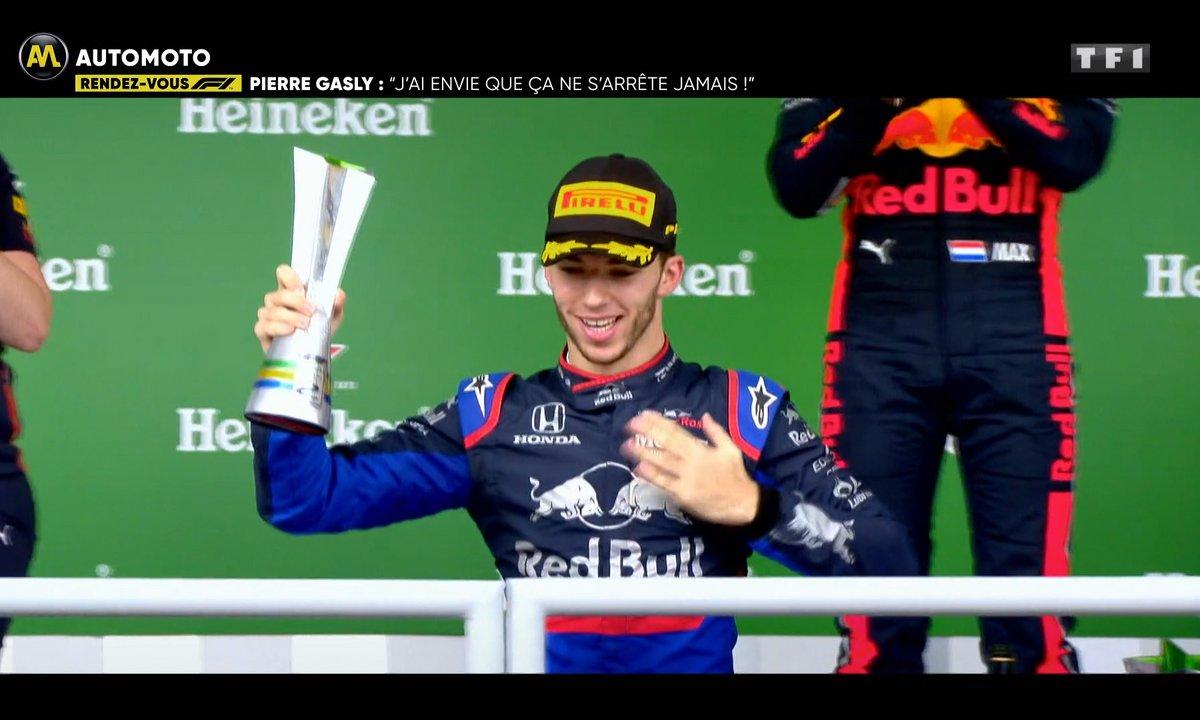 """""""J'ai envie que ça ne s'arrête jamais"""" : Pierre Gasly se confie après son podium au Brésil"""