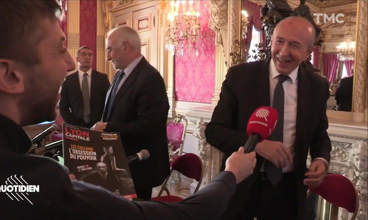 Gérard et Caroline Collomb rejouent House of Cards à Lyon