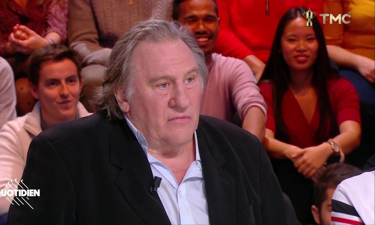 """Gérard Depardieu sur Jean-Luc Mélenchon : """"Qu'il se casse de Marseille !"""""""