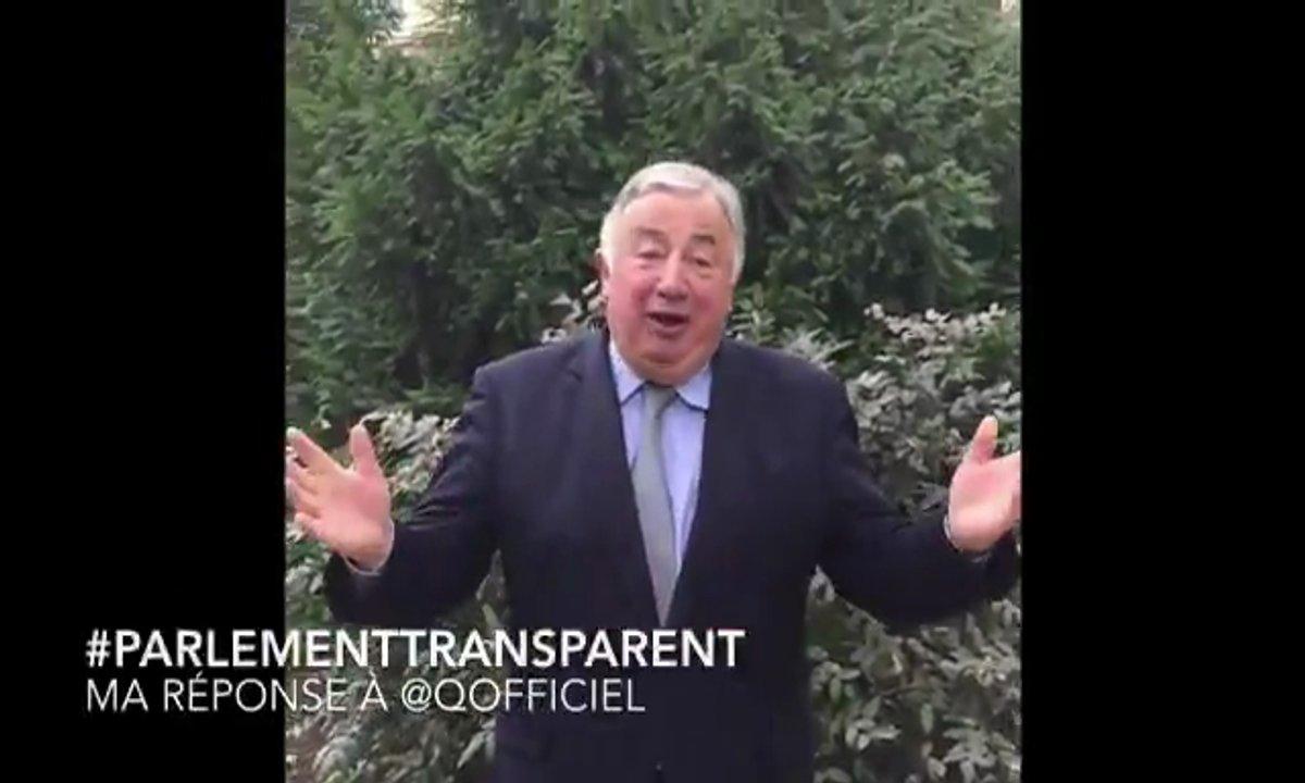 Gérard Larcher répond à nos questions sur le #ParlementTransparent