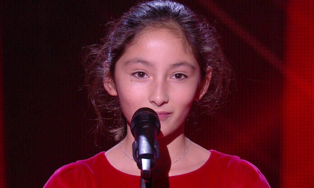 The Voice Kids 2020 - Gersande chante un chant traditionnel Chinois