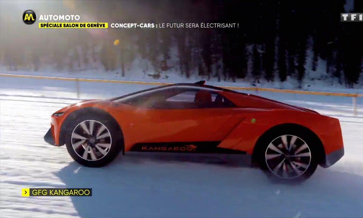 Salon de Genève - Concept-cars: le futur sera électrisant