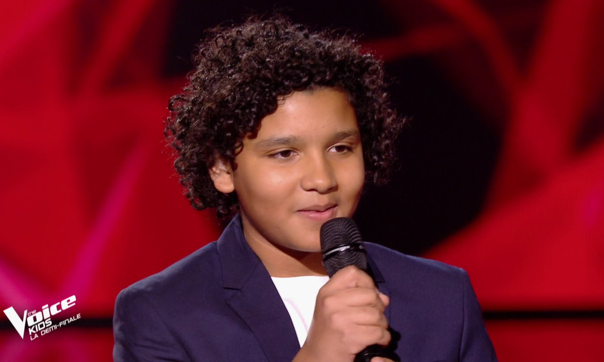 The Voice Kids : Ghali chante « Je m'en vais » de Vianney (Team Patrick Fiori)