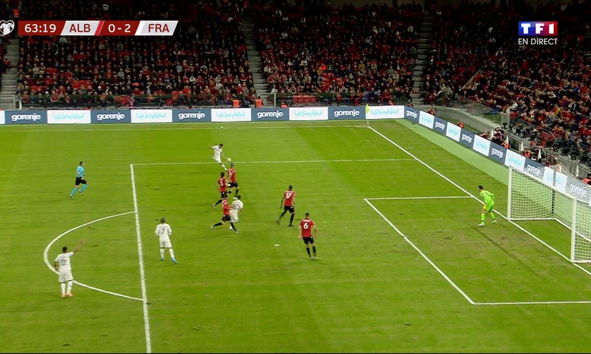 Albanie - France (0 - 2) : Voir la nouvelle occasion de Giroud en vidéo