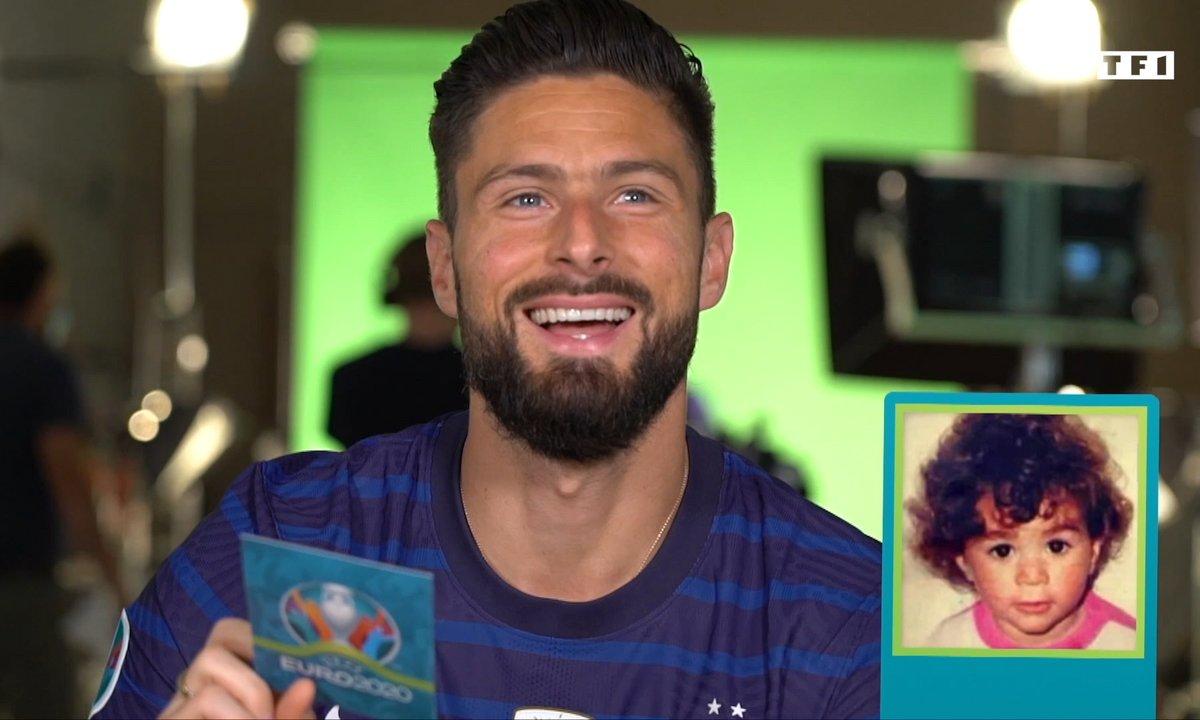 VIDEO - Quand Giroud devine qui sont ses coéquipiers... bébés !