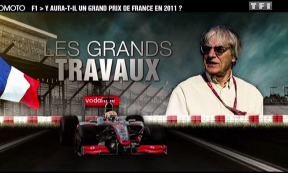 Archive Automoto : A la recherche du nouveau Grand Prix de France en F1