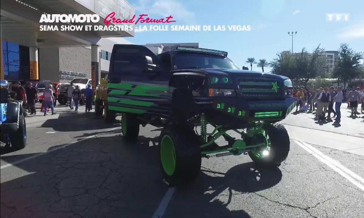 Grand Format : SEMA Show Las Vegas, un salon fou et des dragsters