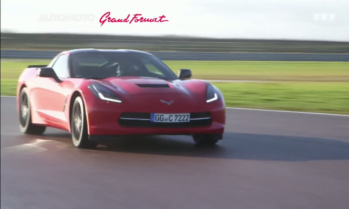 Grand Format : La nouvelle Corvette Stingray 2014