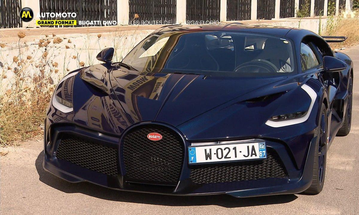 Grand Format - Bugatti Divo sur les routes de la Targa Florio