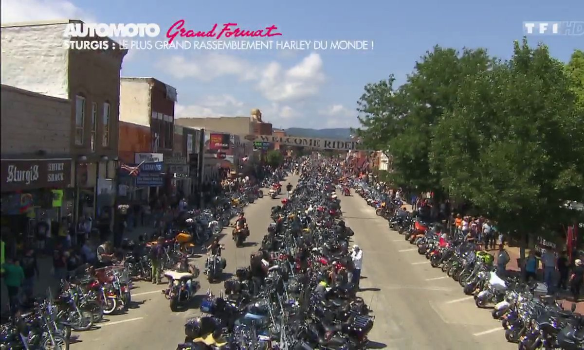 Grand Format : Le rassemblement Harley-Davidson de Sturgis