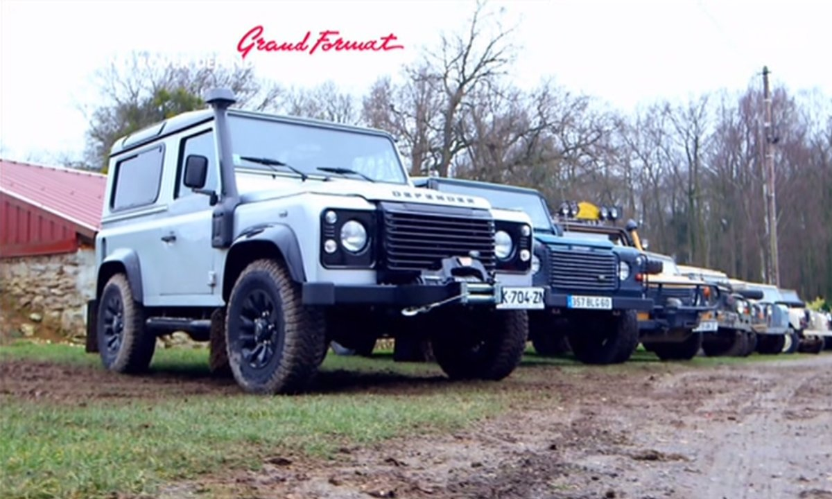 Grand Format : Defender, la légende Land Rover