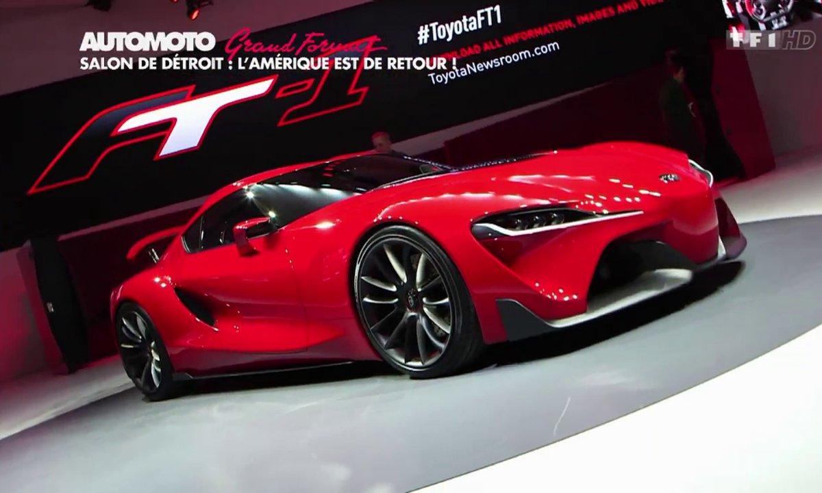 Grand Format : Le Salon Automobile de Detroit 2014