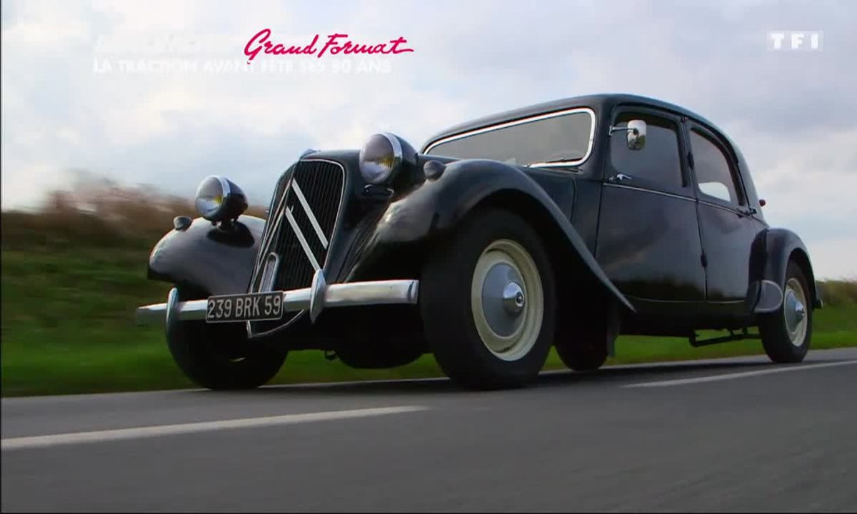 Grand Format : les 80 ans de la Traction Avant