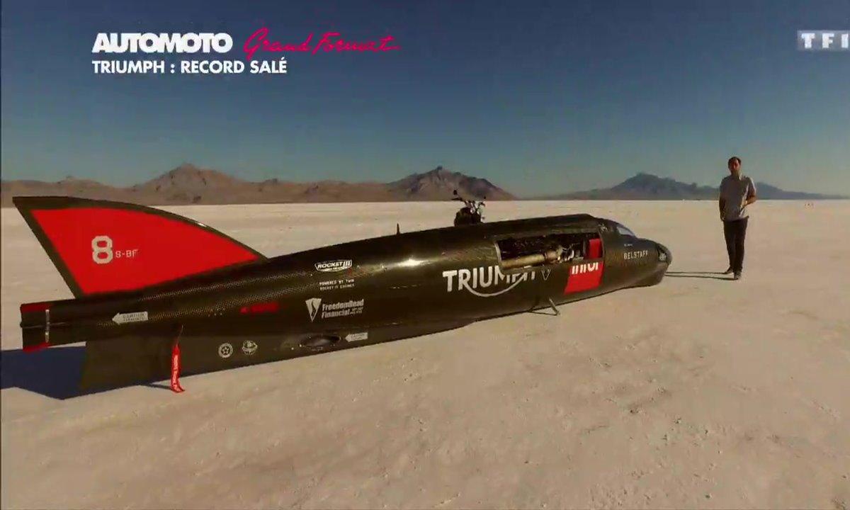 Grand Format : Le record de vitesse de Triumph