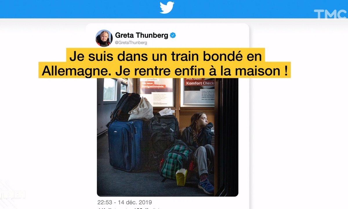 Greta Thunberg se fait remonter les bretelles par la SNCF allemande