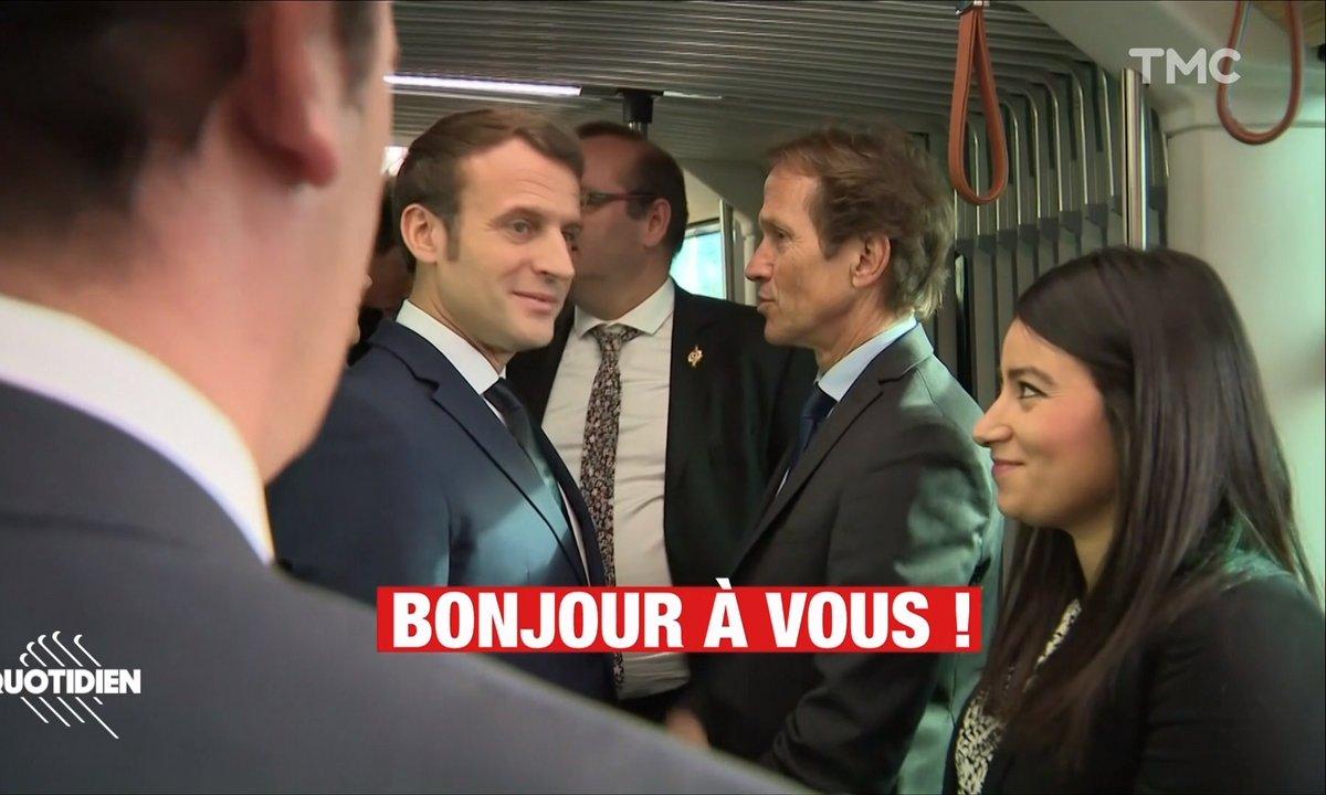 Grève, jour 42 : et soudain, vous croisez Macron dans le bus