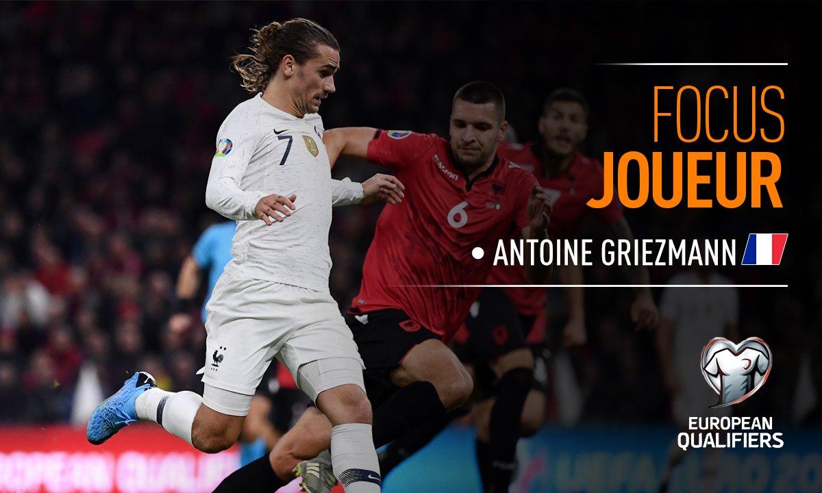 Albanie - France : Voir le match d'Antoine Griezmann en vidéo