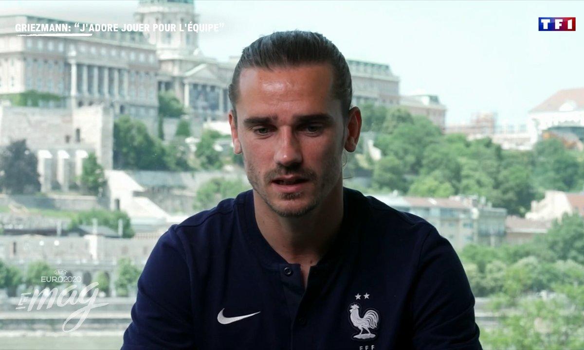 """Antoine Griezmann : """"J'adore jouer pour l'équipe"""""""