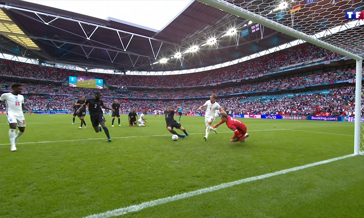 Angleterre - Allemagne (0 - 0) : Harry Kane ne marque toujours pas !