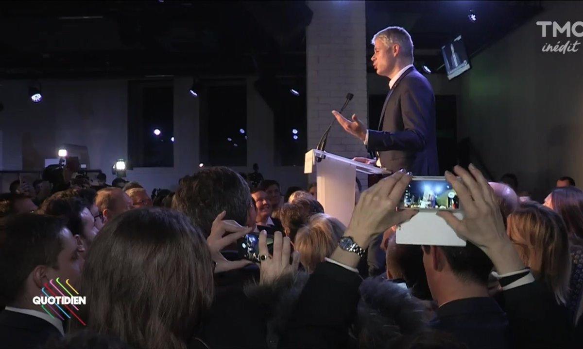 Grosse surprise : Laurent Wauquiez a été élu président des Républicains !