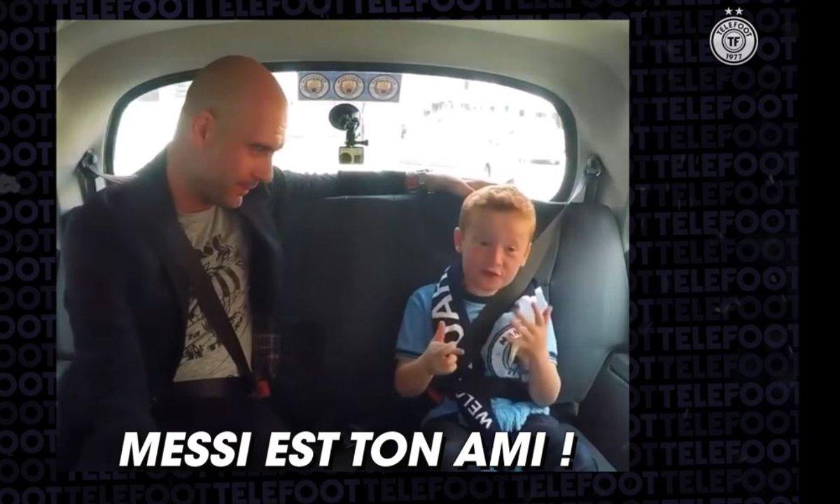 VIDEO - Il y a 5 ans, un jeune fan essayait déjà de convaincre Guardiola de signer Messi