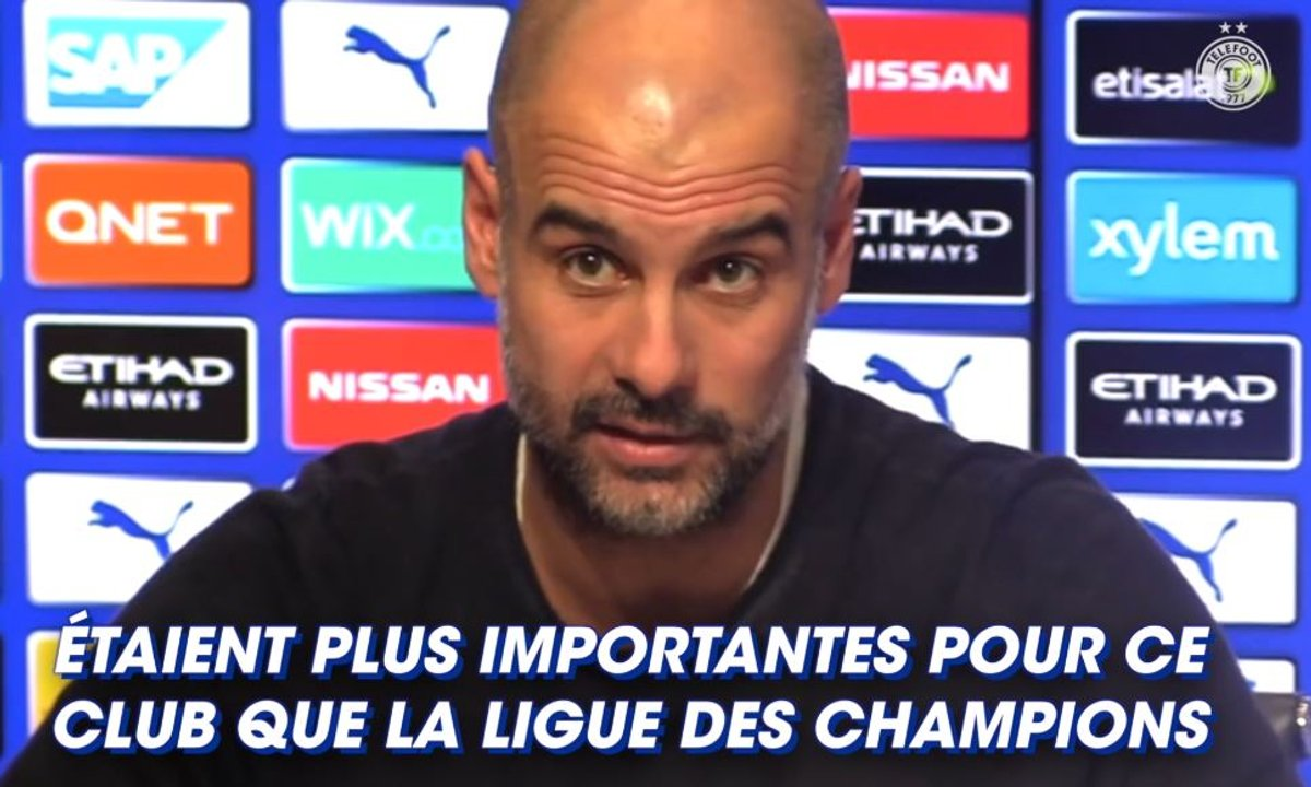 "Guardiola : ""Ici, la FA Cup est plus importante que la LDC"""